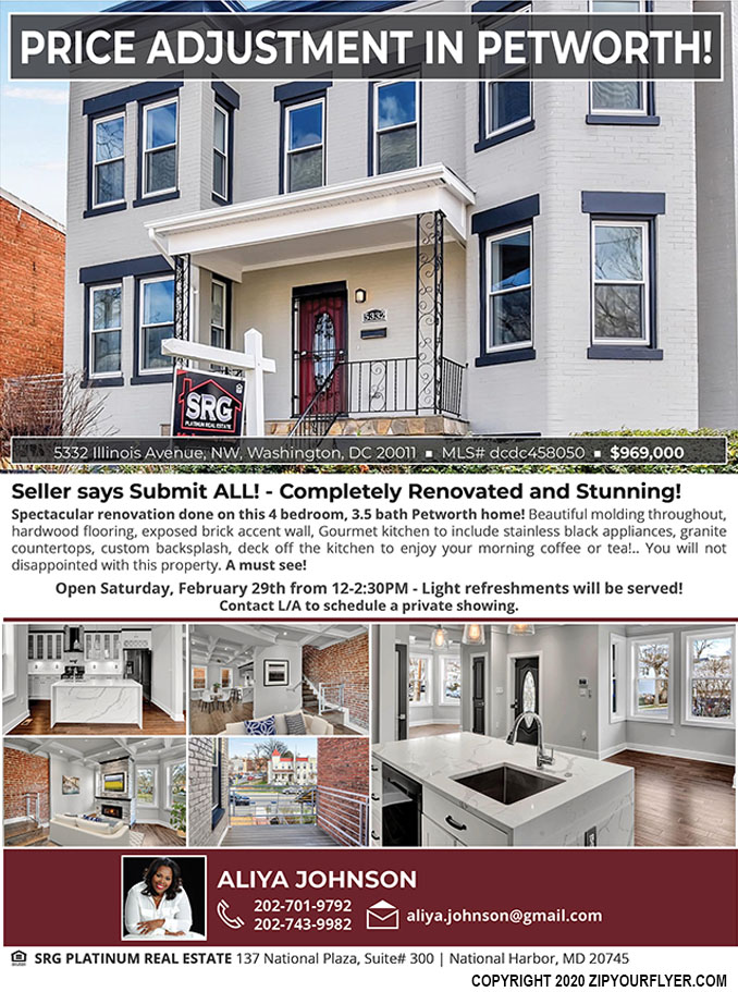 Seller says Submit ALL! - Completely Renovated and Stunning!