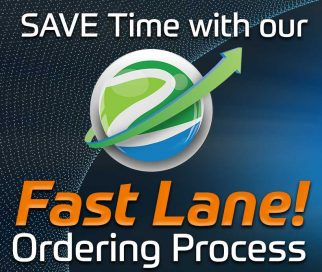 Save Time With Our Fast Lane Ordering Process