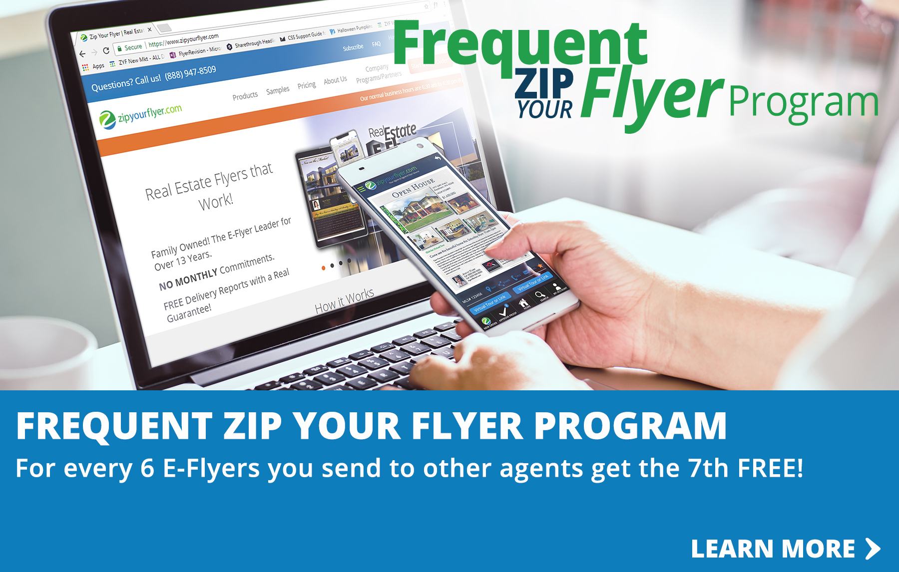 Email Flyers - savings program