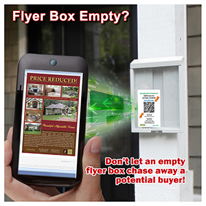QR Code with Flyer Box